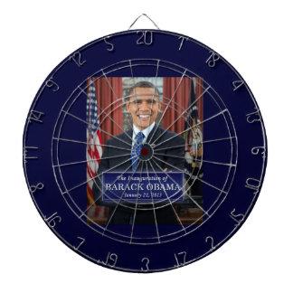バラック・オバマの就任式2013年 ダーツボード