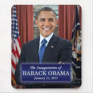 バラック・オバマの就任式2013年 マウスパッド