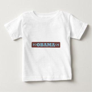 バラック・オバマの幼児のティー ベビーTシャツ