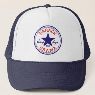 バラック・オバマの星のトラック運転手 キャップ