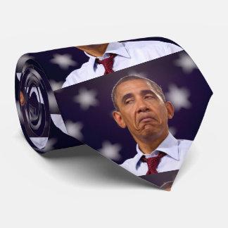 バラック・オバマの気難しいタイ カスタムネクタイ