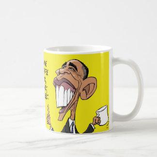 バラック・オバマの漫画のコーヒー・マグ コーヒーマグカップ