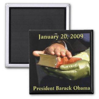 バラック・オバマの聖書の記念品 マグネット