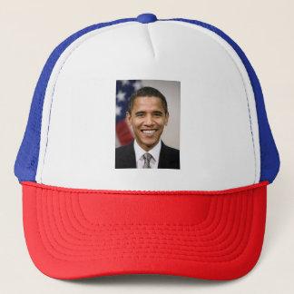 バラック・オバマの赤く、白く、および青のトラック運転手の帽子 キャップ