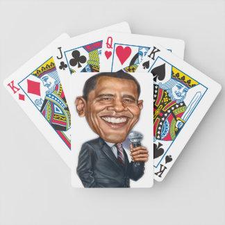 バラック・オバマの風刺漫画シリーズ バイスクルトランプ