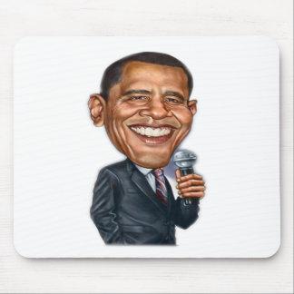 バラック・オバマの風刺漫画シリーズ マウスパッド