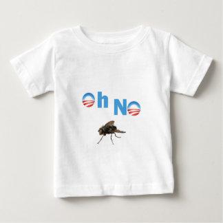 バラック・オバマはえのキラー ベビーTシャツ