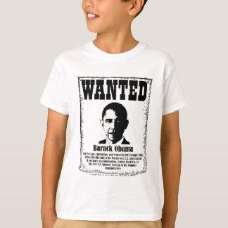 バラック・オバマはポスターがほしいと思いました Tシャツ