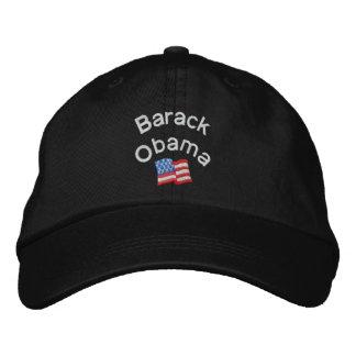 バラック・オバマは帽子を刺繍しました 刺繍入りキャップ