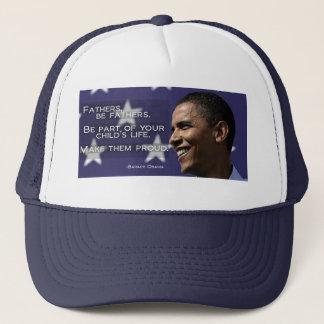 バラック・オバマは帽子-青--の父となります キャップ