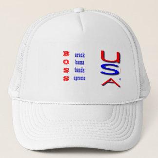 バラック・オバマは最高の選挙の帽子を立てます キャップ