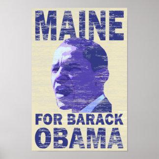 バラック・オバマポスターのためのメイン ポスター