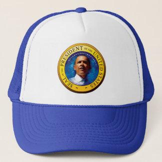 バラック・オバマ大統領のシールの帽子 キャップ