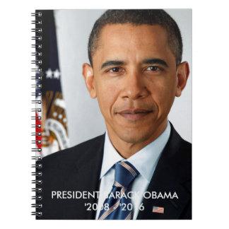 バラック・オバマ大統領のノート ノート