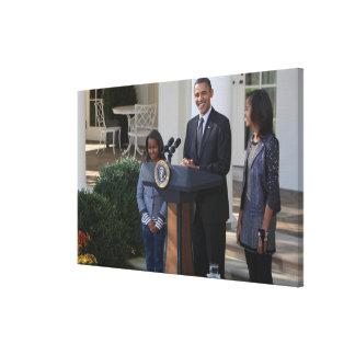バラック・オバマ大統領は赦免します キャンバスプリント