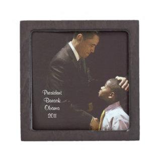 バラック・オバマ大統領、および子供のギフト用の箱 ギフトボックス