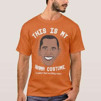 バラック・オバマ恐いハロウィンの衣裳 Tシャツ