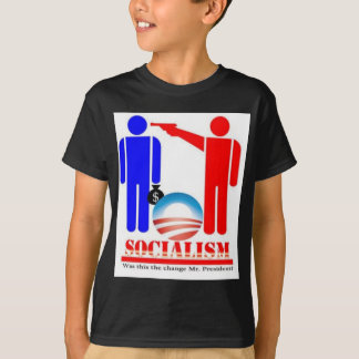 バラック・オバマ社会主義者 Tシャツ