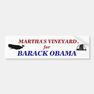 バラック・オバマ2012年のためのマーサのブドウ園 バンパーステッカー