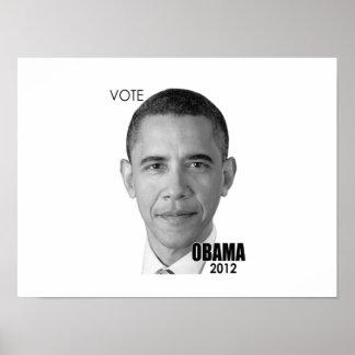 バラック・オバマ2012年の大統領選挙 ポスター