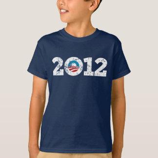 バラック・オバマ2012年の大統領 Tシャツ