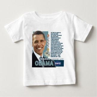 バラック・オバマ2012年-集計します(3)を変えて下さい ベビーTシャツ