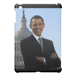 バラック・オバマ44の大統領、上院議員のポートレート iPad MINIケース