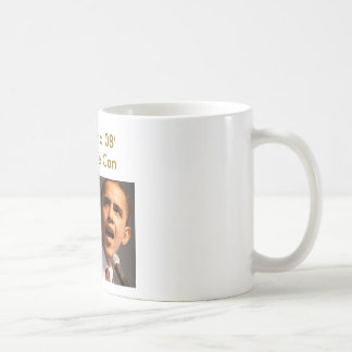 バラック・オバマ、オバマ08' Yes私達はできます コーヒーマグカップ