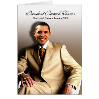 バラック・オバマ(クラシック)大統領 カード