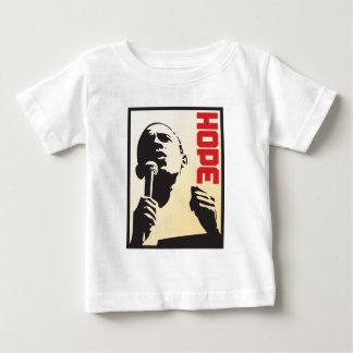 バラック・オバマ-リーダーシップ ベビーTシャツ