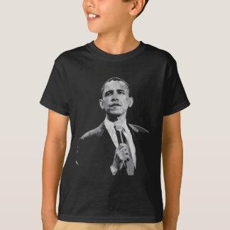 バラック・オバマ-リーダーシップ Tシャツ
