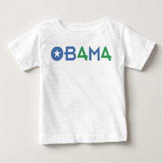 バラック・オバマ、緑44's、第44大統領 ベビーTシャツ