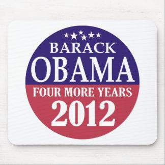 バラック・オバマ- 4つのより多くの年- 2012年 マウスパッド
