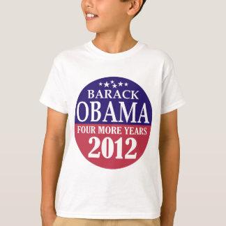 バラック・オバマ- 4つのより多くの年- 2012年 Tシャツ