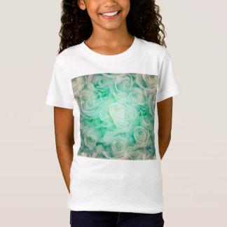 バラパターン Tシャツ