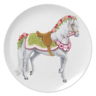 バラパレードの馬のプレート プレート