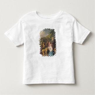 バラライカプレーヤー1764年 トドラーTシャツ