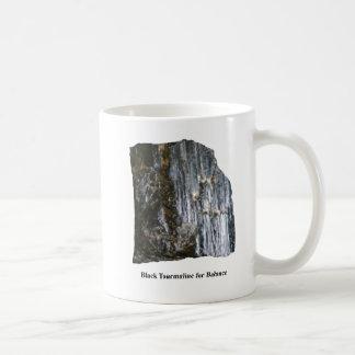 バランスのマグのための黒い電気石 コーヒーマグカップ