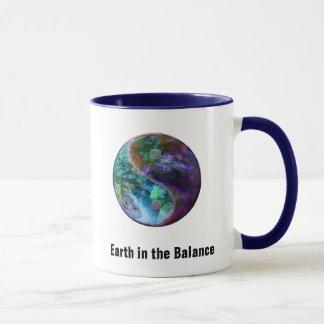 バランスのマグの地球 マグカップ