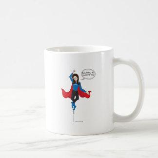 バランスはすべて元の漫画のマグです コーヒーマグカップ