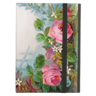 バラ及びジャスミン iPad AIRケース