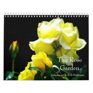 バラ園のカレンダー カレンダー