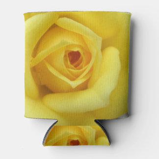 バラ園の花の小型黄色 缶クーラー