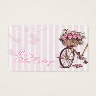 バラ色のバイクの名刺 名刺