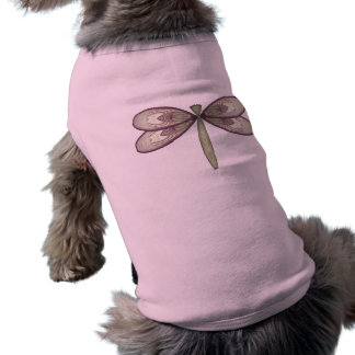 バラ色の新しいのトンボ ペット服
