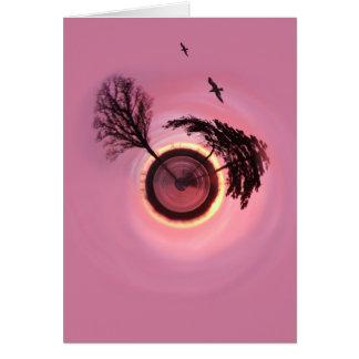 バラ色の日没の惑星 カード