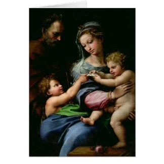 バラ、c.1518のヴァージン カード