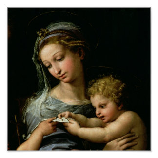 バラ、c.1518のヴァージン ポスター