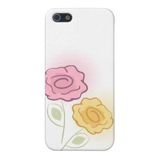 バラ iPhone 5 カバー