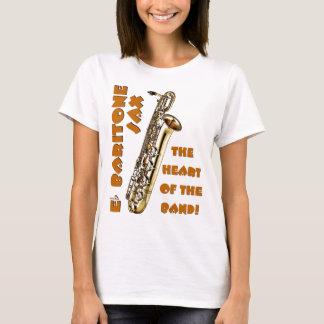 バリトン歌手のサクソフォーン Tシャツ